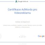 Certifikace AdWords pro Videoreklamu