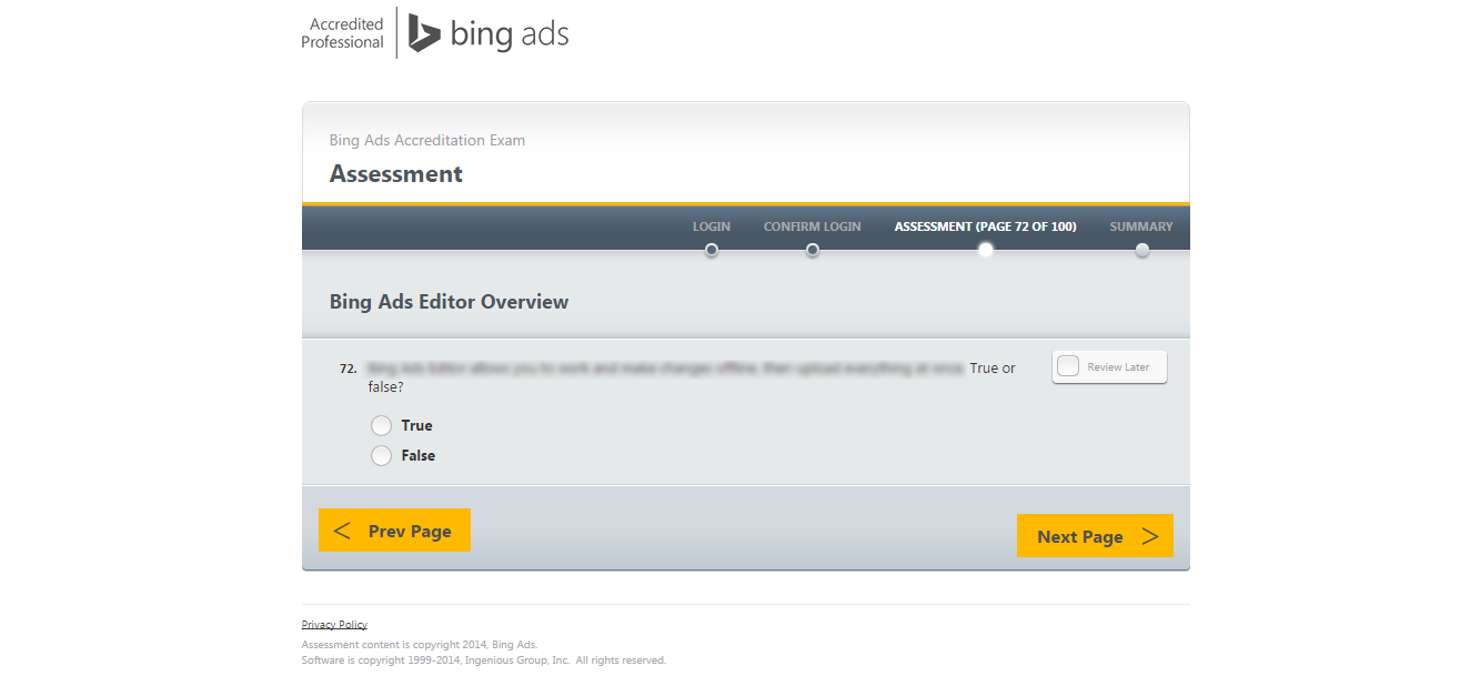 Bing-Ads-certifikace-test