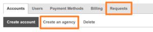 Bing Ads MCC - Vytvoření agenturního účtu