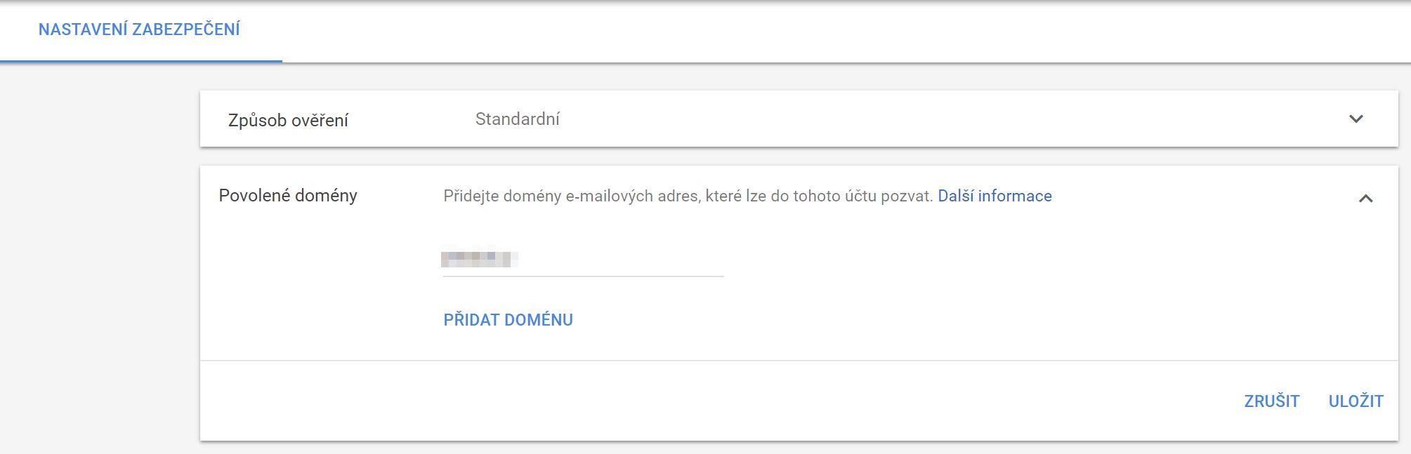 Zabezpečení Google AdWords
